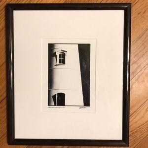 Alison Shaw framed, signed photo, 1981